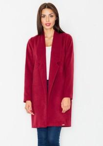 Czerwony płaszcz Figl w stylu casual
