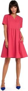 Sukienka Be z tkaniny