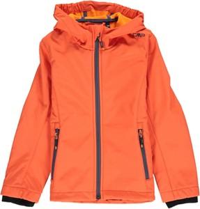 Pomarańczowa kurtka dziecięca CMP z tkaniny