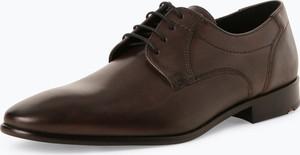 Brązowe buty Lloyd ze skóry w stylu klasycznym
