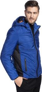 Niebieska kurtka Giacomo Conti w stylu casual
