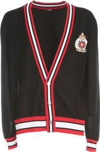 Czarny sweter Balmain w młodzieżowym stylu z bawełny