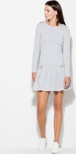Sukienka sukienki.pl z długim rękawem z bawełny mini