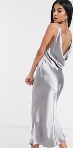 Sukienka Asos Design maxi na ramiączkach
