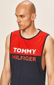 T-shirt Tommy Hilfiger z bawełny z nadrukiem