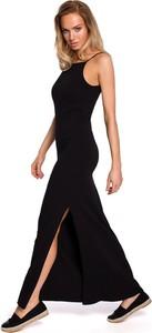 Sukienka Merg maxi z bawełny na ramiączkach