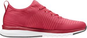 Czerwone buty sportowe Reebok z płaską podeszwą