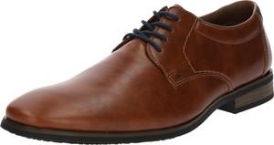 Brązowe buty Rieker