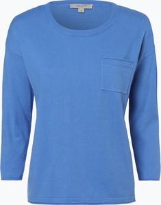 Niebieski sweter comma, z bawełny