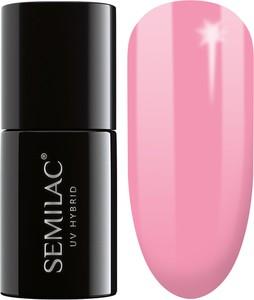 Semilac, lakier hybrydowy 060 bubblegum pink