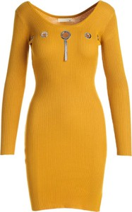 Sukienka Multu mini z długim rękawem w stylu casual