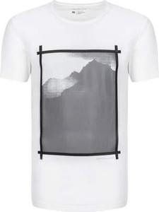 T-shirt Calvin Klein z krótkim rękawem z bawełny w młodzieżowym stylu