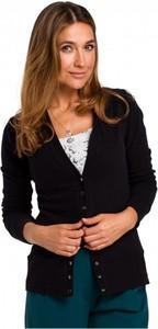Czarny sweter Style z dzianiny