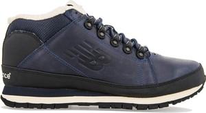 Niebieskie buty zimowe New Balance sznurowane