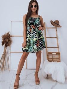 Sukienka Dstreet z okrągłym dekoltem mini
