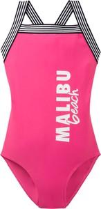 Różowy strój kąpielowy bonprix bpc bonprix collection