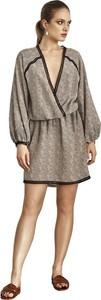 Sukienka fADD mini z jedwabiu