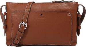 Brązowa torebka Esprit średnia matowa