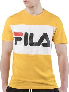 T-shirt Fila w sportowym stylu z krótkim rękawem z dzianiny