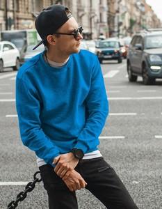 Niebieska bluza Dstreet