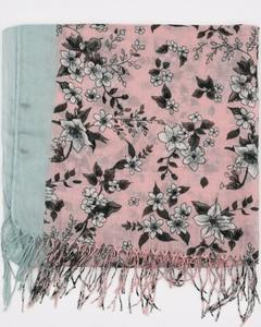 Różowy szalik Sinsay