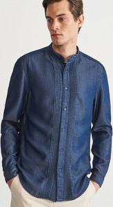 Koszula Reserved w stylu casual ze stójką