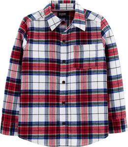 Koszula dziecięca OshKosh z tkaniny w krateczkę