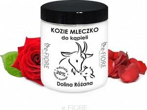 e-FIORE Kozie Mleko Dolina Różana 400g