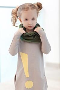 Zielony szalik dziecięcy M-art-a-baby