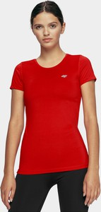 T-shirt 4F z krótkim rękawem z okrągłym dekoltem