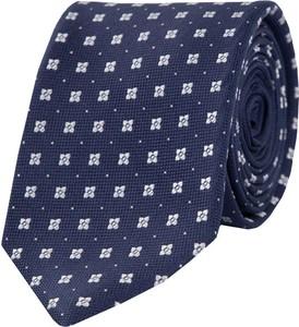 Granatowy krawat Tommy Hilfiger