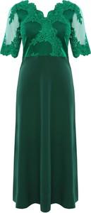 4d12186ddf sukienki dla puszystych wieczorowe - stylowo i modnie z Allani