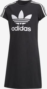 Sukienka dziewczęca Adidas Originals z bawełny
