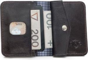 Brązowy portfel męski Solier