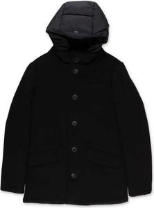 Czarna kurtka dziecięca Herno z wełny