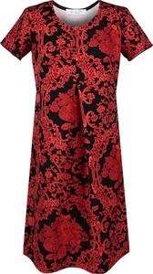 Sukienka Fokus midi z tkaniny
