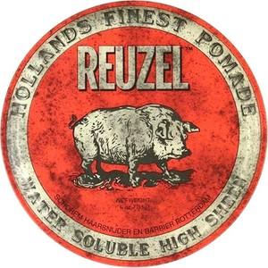 Reuzel Red Water Soluble High Sheen | Średnio utrwalająca i nabłyszczająca pomada 35g - Wysyłka w 24H!