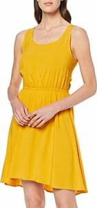 Sukienka amazon.de z okrągłym dekoltem w stylu casual mini
