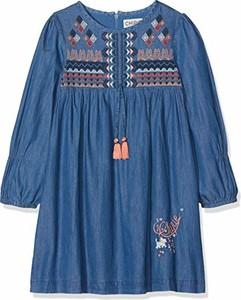Niebieska sukienka dziewczęca Chipie