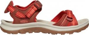 Czerwone sandały Keen z klamrami