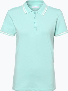 Miętowy t-shirt Marie Lund