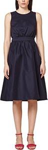 Sukienka amazon.de z okrągłym dekoltem midi