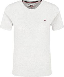 T-shirt Tommy Jeans z okrągłym dekoltem z krótkim rękawem w stylu casual