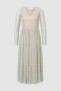 Sukienka Rich & Royal z długim rękawem w stylu casual