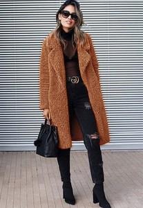 Brązowy płaszcz Venilla Boutique