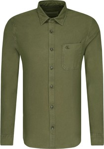 Zielona koszula Calvin Klein