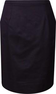 Czarna spódnica Fokus z szyfonu