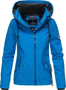 Niebieska kurtka Marikoo krótka