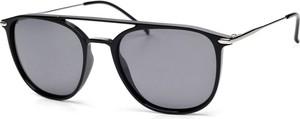 Czarne okulary damskie Arctica