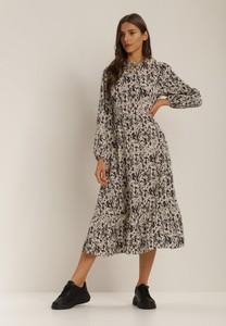 Sukienka Renee midi w stylu casual